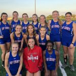 Jay Girls Track Competes at Ben Davis Regional