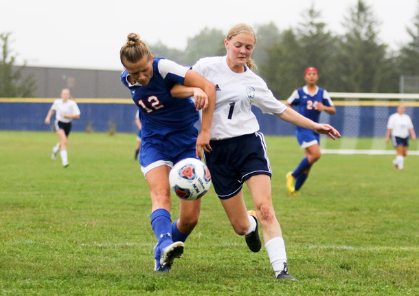 Girls Varsity Soccer beats Woodlan Jr/sr 9 – 3