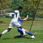 David Schulte and Novi Soccer Score