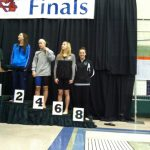 Ava Bianchi places at MSHAA Swim Finals