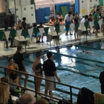 Girls' Swim Keeping Busy