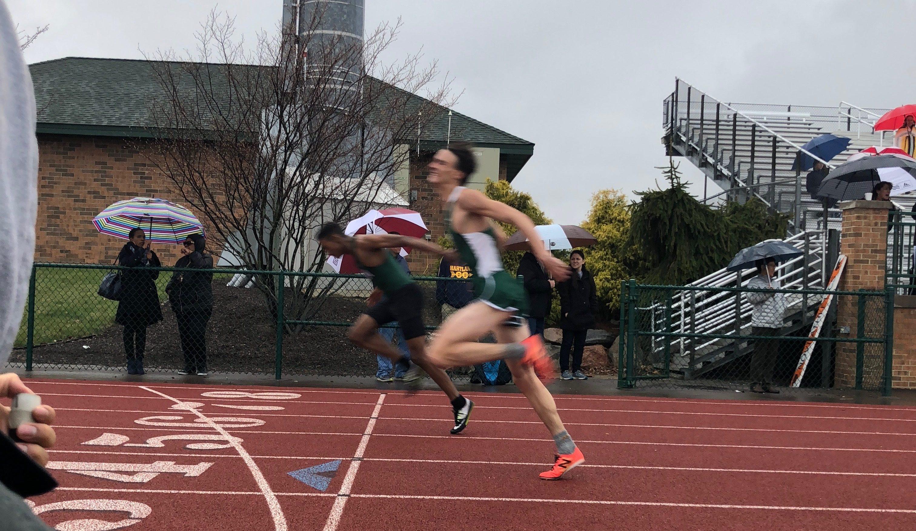 Novi Track Boys beat Hartland, remain undefeated