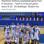 Bulldogs Travel to Ft. Stockton for Regional Quarterfinal Game vs. Anthony