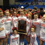 3A State Cheerleading Runner-Up