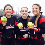 The Lady Cardinals sixth-inning burst enough to top Bauxite Lady Miners, 8-2