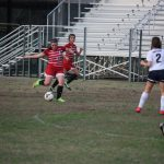 Ark Baptist edges Cards 2-1, Lady Cards fall 8-1