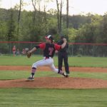 Mayflower defeats the Cardinals despite Zach Caplinger's strong effort, 4-0