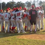 The Cardinals jump on Jessieville early and coast to 18-5 win