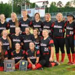 Lady Cardinals earn district championship with 12-2 victory over Perryville