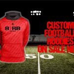 Custom Cardinal Football Hoodies