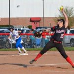 LJ Helmich leads the Lady Cardinals to 9-4 victory