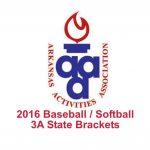 3A Baseball / Softball State Brackets