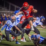 Cards roll Lions on homecoming