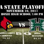 Cards travel to Hoxie for 3A State Playoffs
