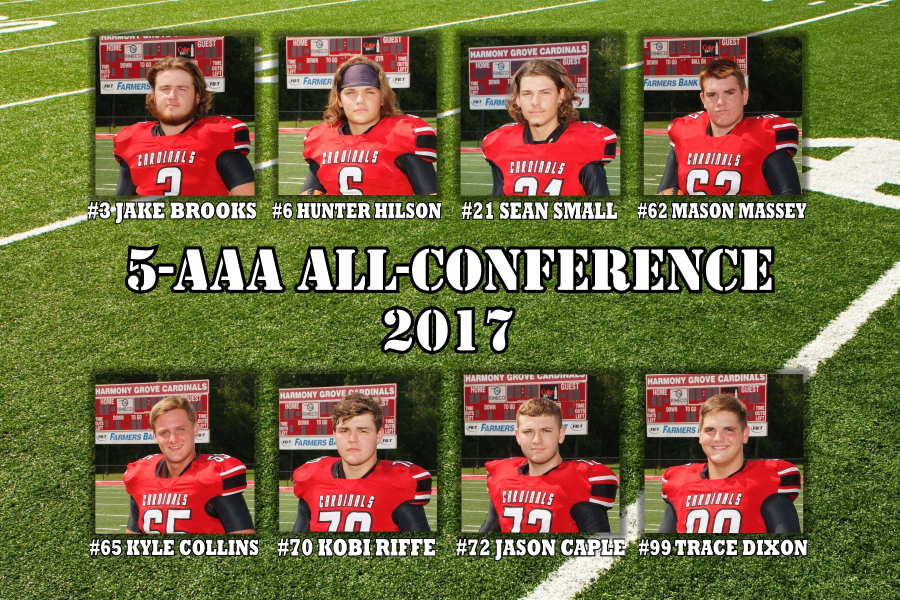 2017 5-AAA All-Conference
