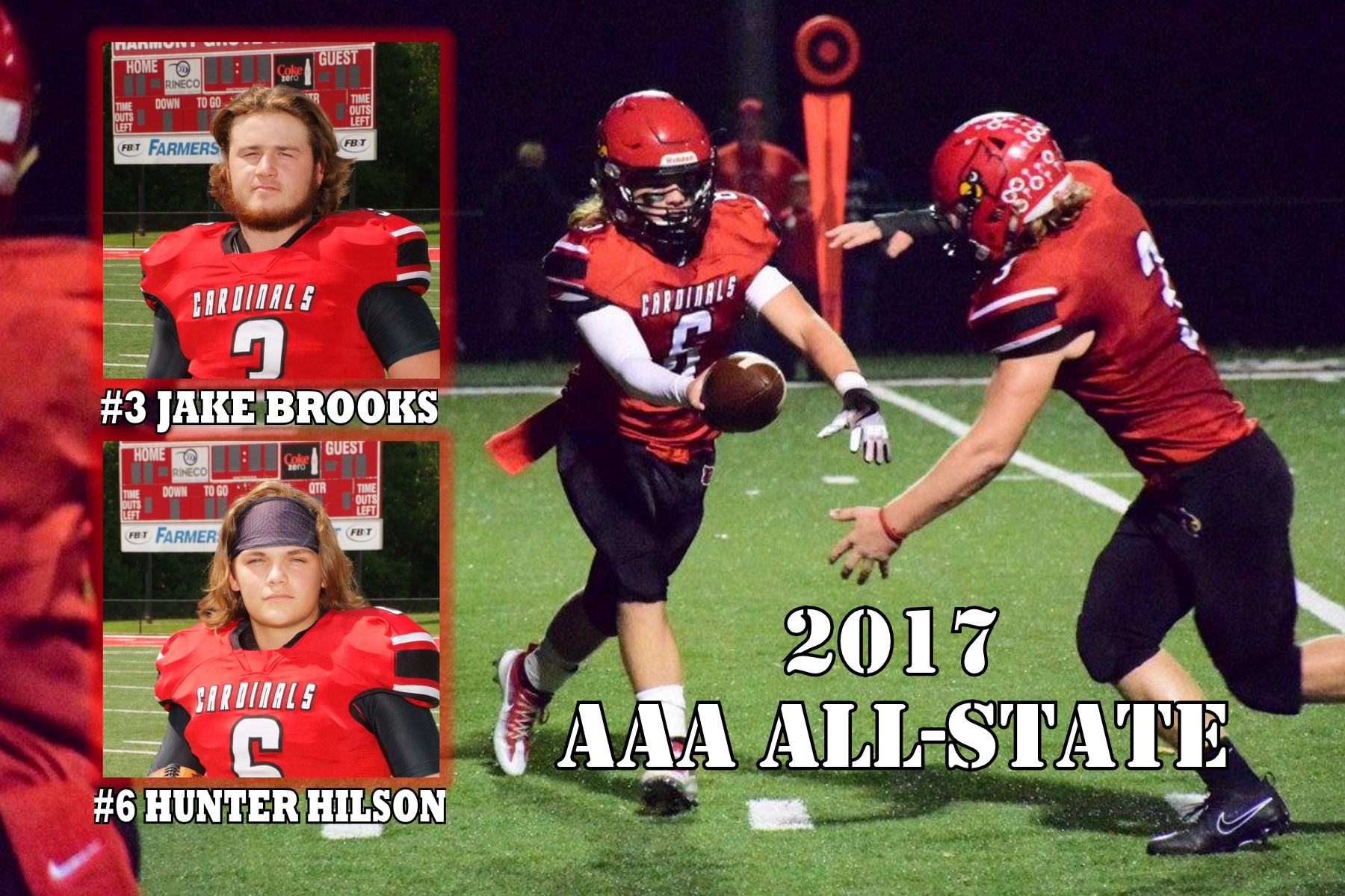 Cards receive two AAA All-State honors