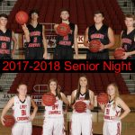 Basketball Senior Night February 6th
