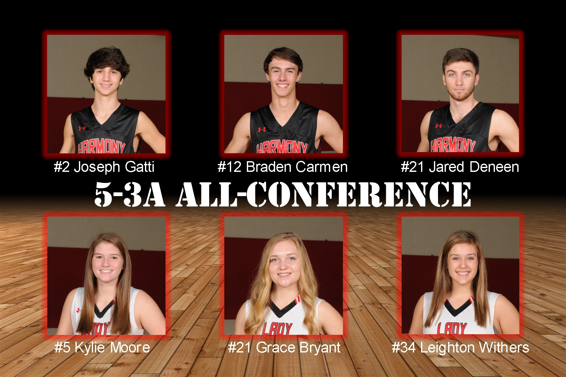 2018 5-AAA Basketball All-Conference