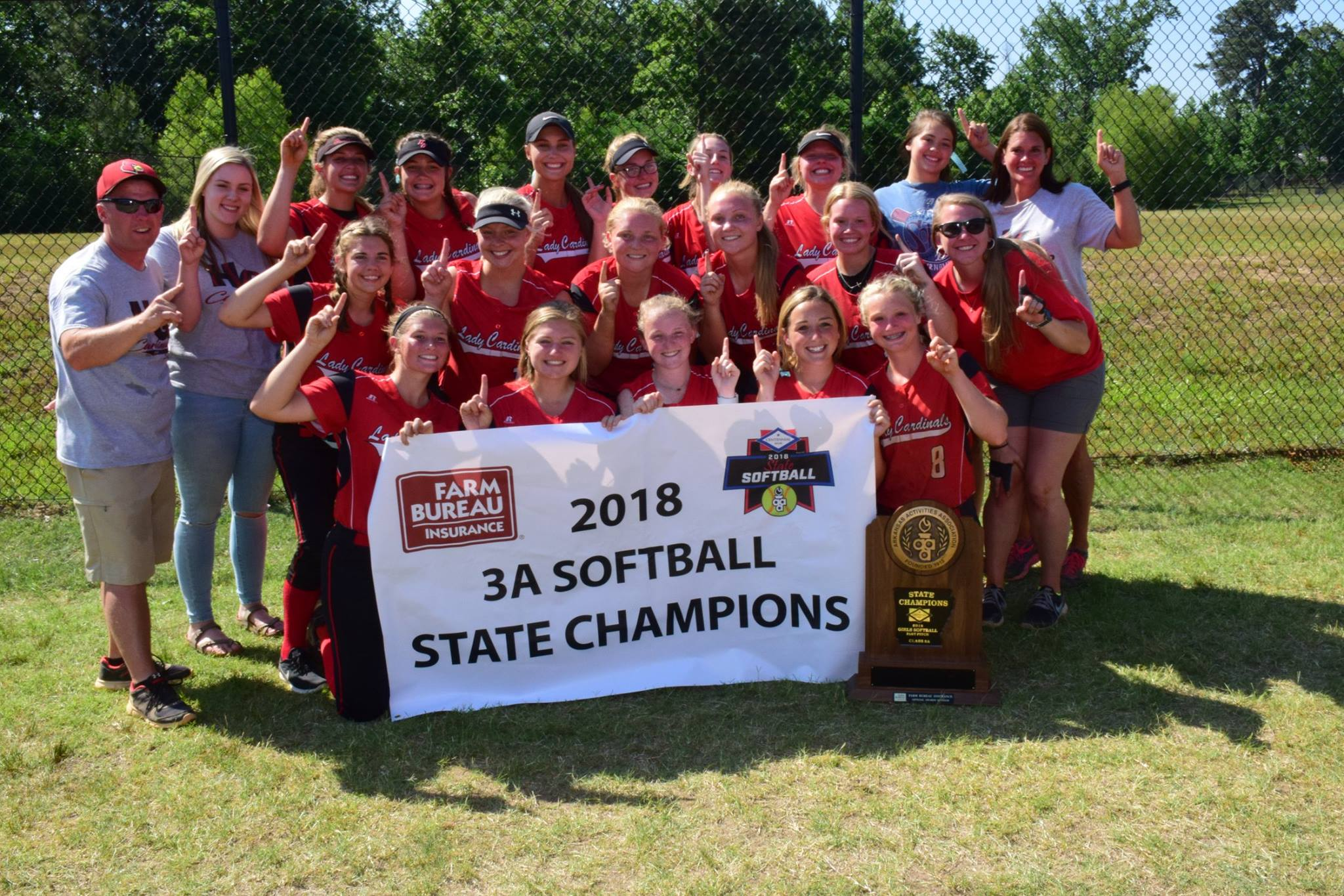 Lady Cards take down defending champs for 5th title