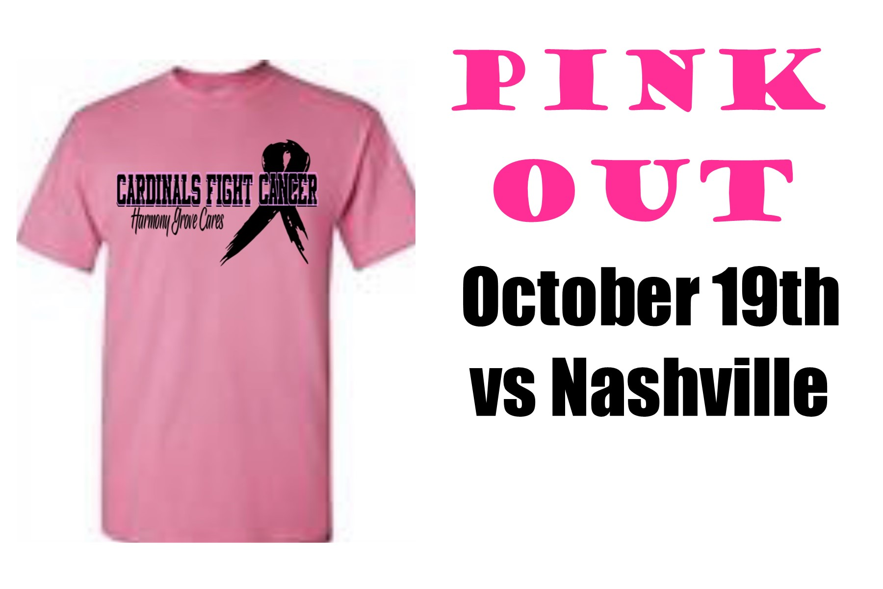 Pink Out October 19th
