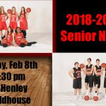 2018-2019 Senior Night