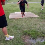 Magnet Cove Relays Shot Put event