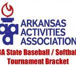 3A State Baseball and Softball Tournament bracket