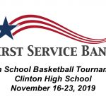 First Service Bank Tournament brackets