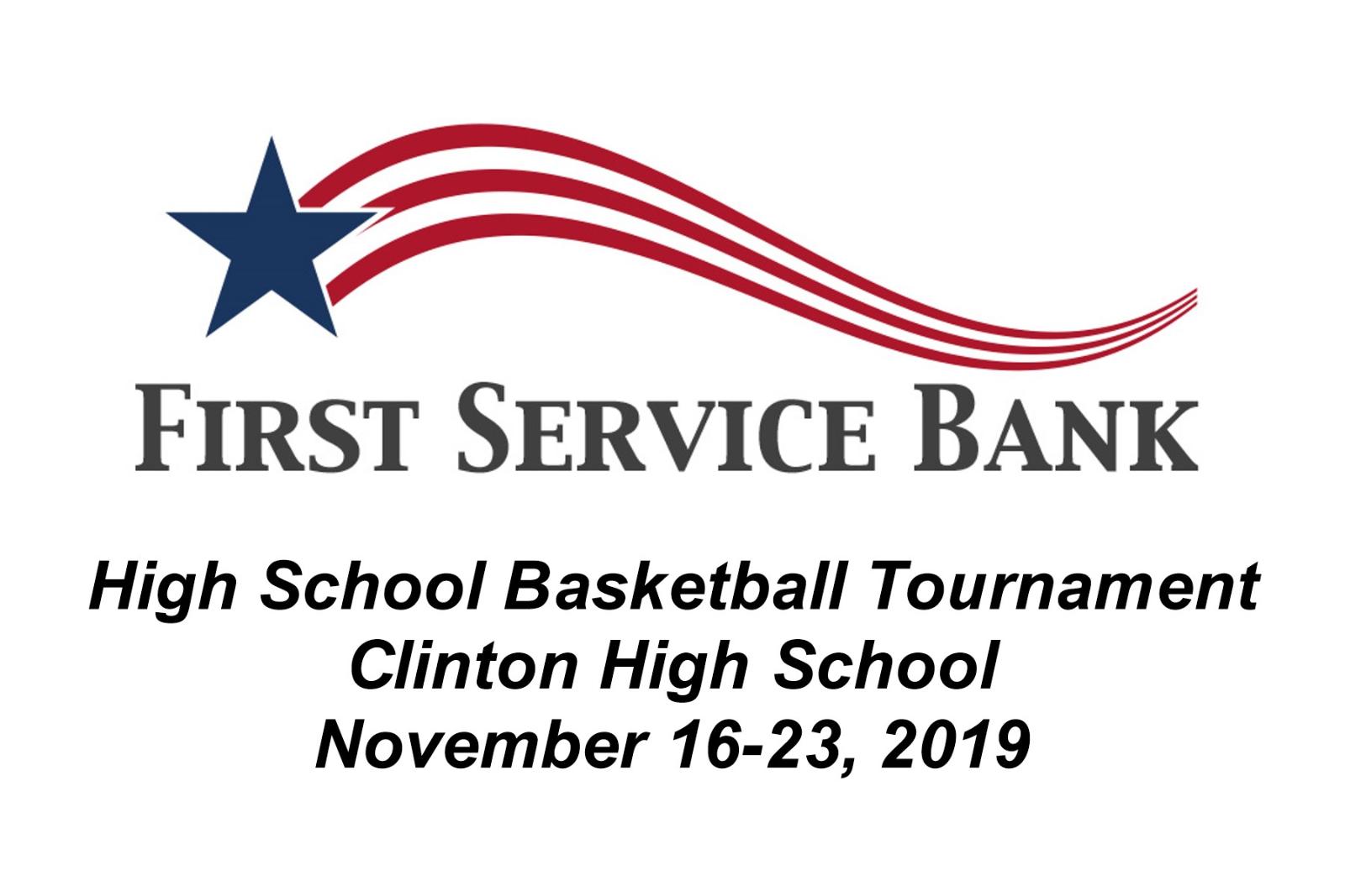 First Service Bank Tournament brackets