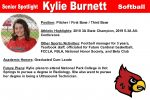 Senior Spotlight: Kylie Burnett