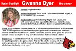 Senior Spotlight: Gwenna Dyer