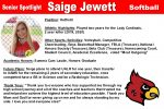 Senior Spotlight: Saige Jewett