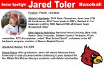 Senior Spotlight: Jared Toler