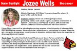 Senior Spotlight: Jozee Wells