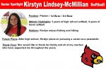 Senior Spotlight: Kirstyn Lindsey-Mcmillian