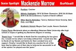 Senior Spotlight: Mackenzie Morrow