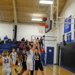 Union City Girls Junior High Basketball beat Geary 30-11