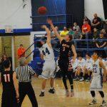 Union City High School Boys Varsity Basketball beat Calumet 77-71