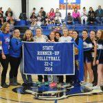Volleyball Team Receives Banner