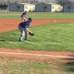 Union City Middle School Baseball beat Riverside Indian School 12-5
