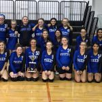 JH Volleyball: Tigers Take Runner-Up