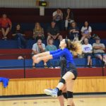 Lady Tigers Sweep the Trojans