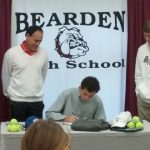 Senior Adams signs to play tennis at Hillsdale College