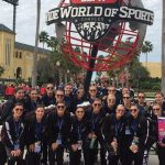 Dance team excels at nationals, finishes top 10 in both routines