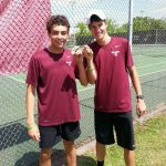 Seniors Adams, Davis continuing tennis careers into college