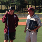Bearden baseball's Tate honored with dedication of fieldhouse