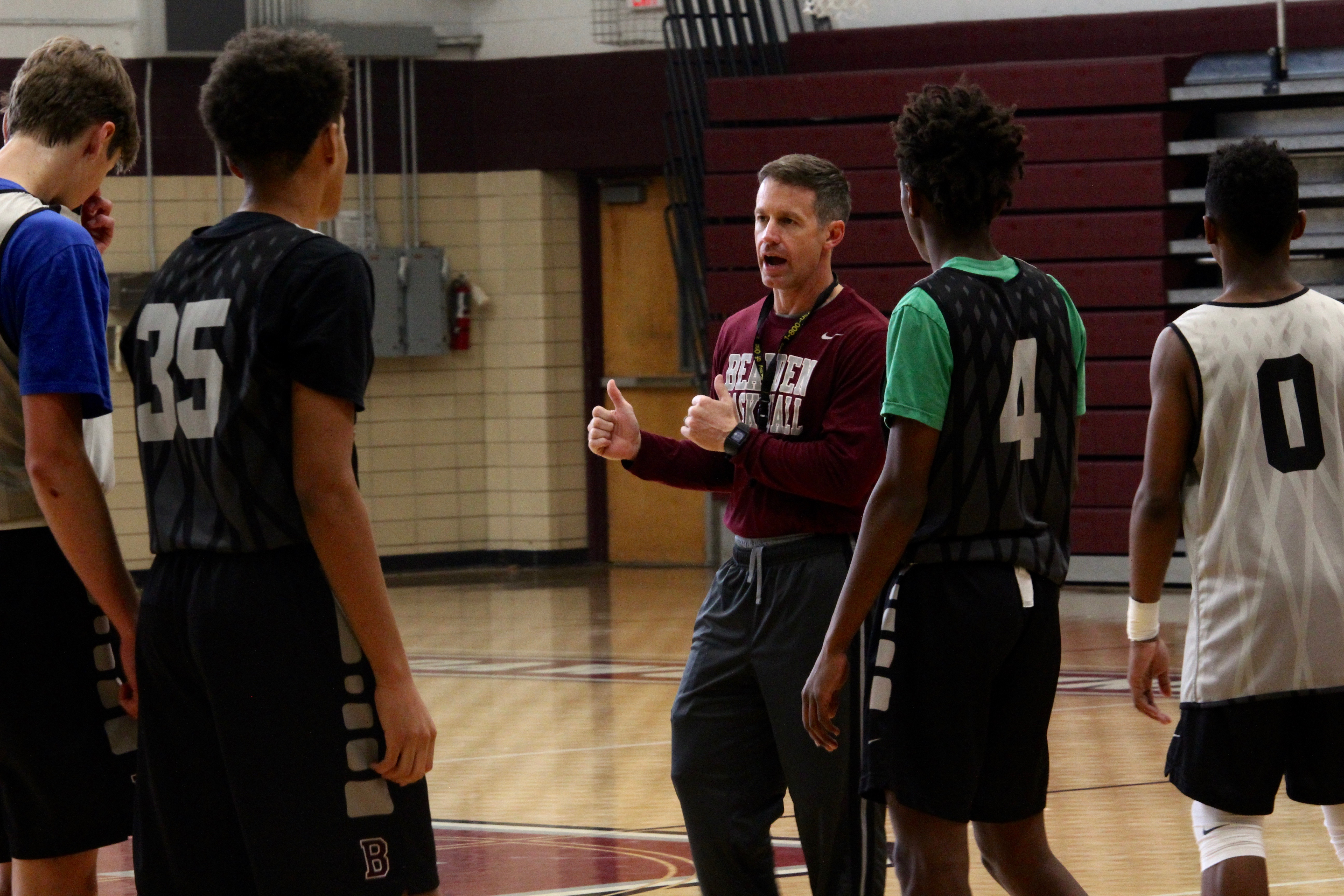 Parrott wins District 4-AAA Coach of the Year in his second season at BHS