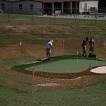 Golf practice facility to offer putting green, chipping targets, driving nets