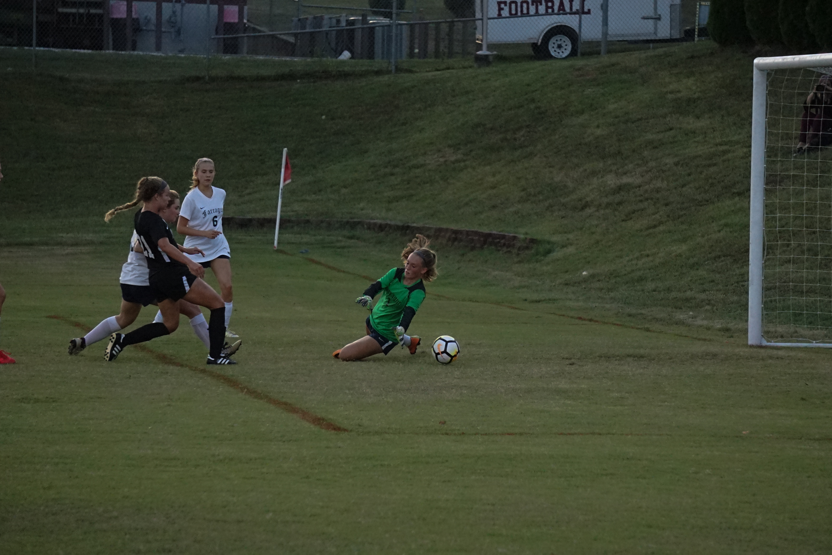 Bearden soccer jumps out to early lead, rolls past Farragut 4-0