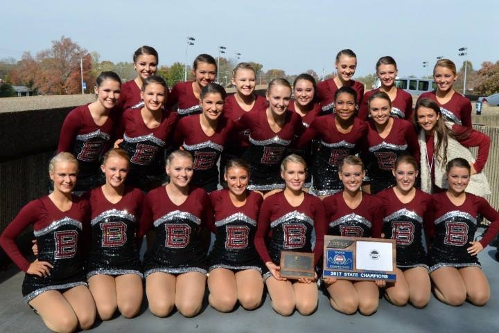 Five-time defending state champion dance team aiming for another title this weekend